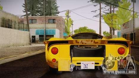 Ferrari 330 P4 1967 IVF para GTA San Andreas left
