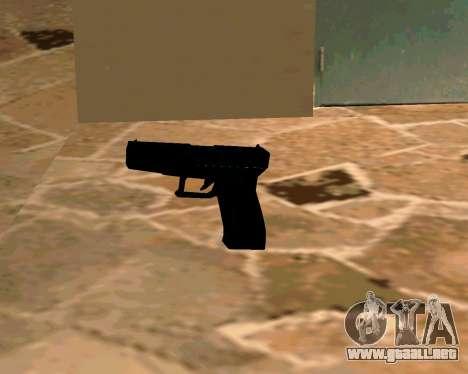 Glock из Cutscene para GTA San Andreas quinta pantalla