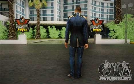 El capitán David Anderson из Efecto de Masa de l para GTA San Andreas segunda pantalla