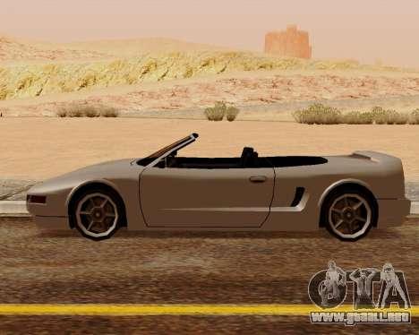Infernus Convertible para GTA San Andreas left