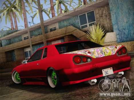 Elegy JDM Style para GTA San Andreas vista posterior izquierda