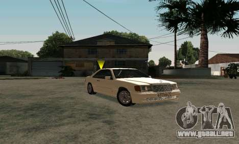 Mercedes-Benz W124 Coupe para GTA San Andreas