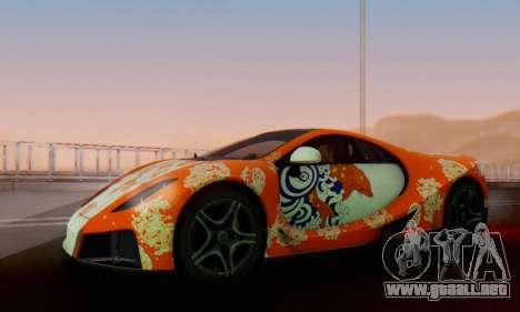 GTA Spano 2014 IVF para las ruedas de GTA San Andreas