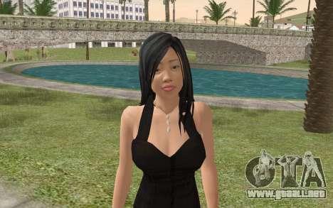 Casual Girl para GTA San Andreas tercera pantalla
