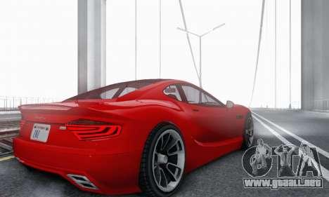 Hijak Khamelion V1.0 para GTA San Andreas vista hacia atrás