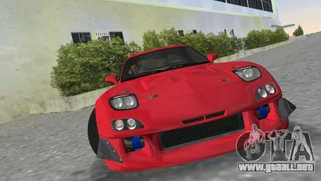 Mazda RX7 FD3S RE Amamiya Road Version para GTA Vice City vista lateral izquierdo