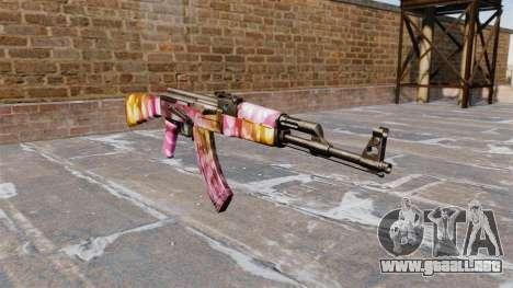 El AK-47 Puntos para GTA 4