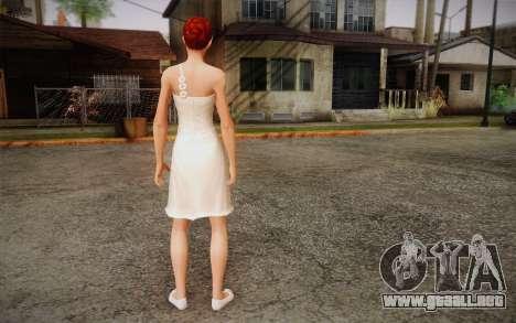 Nina para GTA San Andreas segunda pantalla