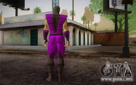 Lluvia из Ultimate MK3 para GTA San Andreas segunda pantalla
