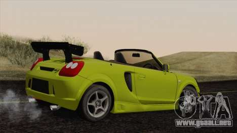 Toyota MR-S 2002 para GTA San Andreas left