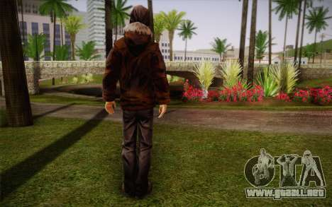 William Carver из The Walking Dead para GTA San Andreas segunda pantalla