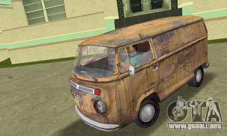 Volkswagen T2 Super Rust para GTA Vice City