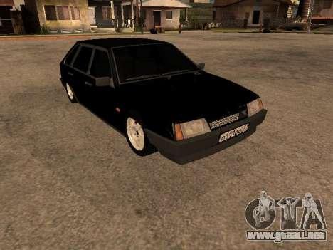 VAZ 2109 Bandit V 1.0 para GTA San Andreas vista posterior izquierda
