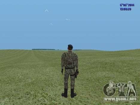 USSR Special Forces para GTA San Andreas segunda pantalla