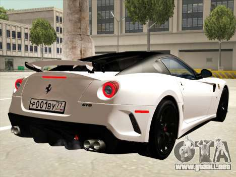 Ferrari 599 GTO para el motor de GTA San Andreas