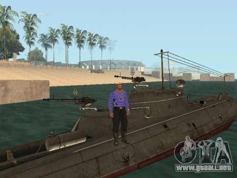 Bote Torpedo tipo G-5 para el motor de GTA San Andreas