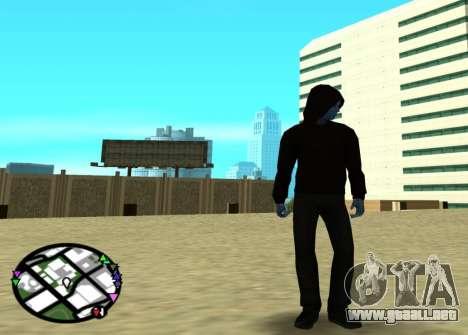 El poder de la nueva spider-man 2 para GTA San Andreas segunda pantalla