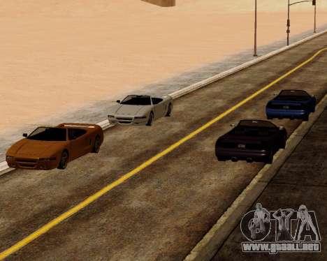 Infernus Convertible para la visión correcta GTA San Andreas