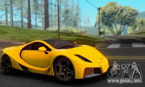 GTA Spano 2014 IVF para la visión correcta GTA San Andreas