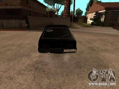VAZ 2109 Bandit V 1.0 para GTA San Andreas left