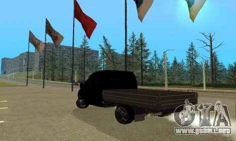 GAZ 3302 V8 de Demonios para la visión correcta GTA San Andreas