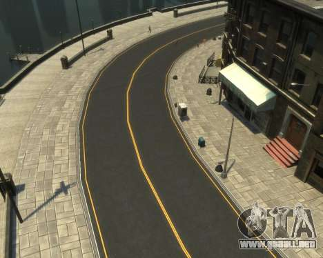 New Roads  (Textures - HD) para GTA 4 quinta pantalla