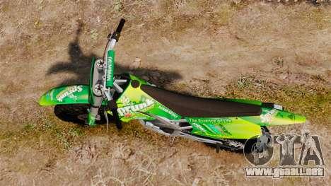 GTA V Maibatsu Sanchez wheels v1 para GTA 4 visión correcta