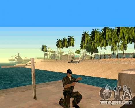 Glock из Cutscene para GTA San Andreas sucesivamente de pantalla