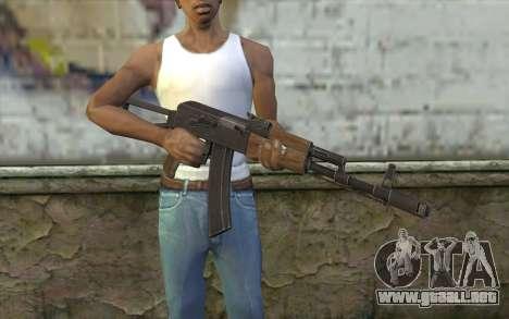 AK74 Rifle para GTA San Andreas tercera pantalla