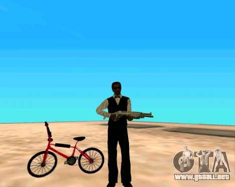 SPAS-12 из Vice City Stories para GTA San Andreas tercera pantalla