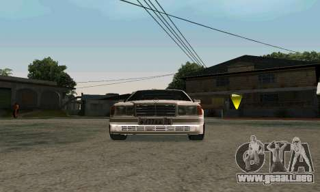 Mercedes-Benz W124 Coupe para GTA San Andreas left