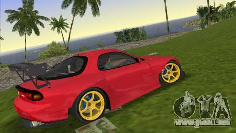 Mazda RX7 FD3S RE Amamiya Road Version para GTA Vice City left