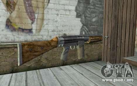 R91 Assault Rifle para GTA San Andreas segunda pantalla