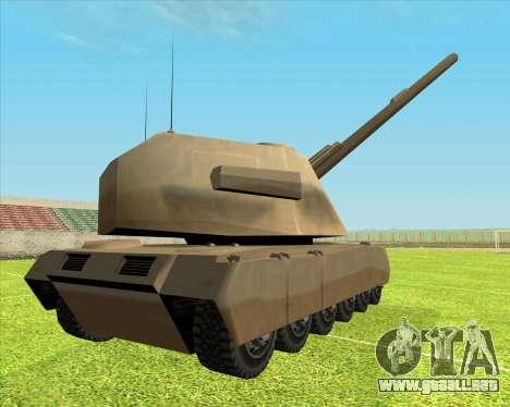 Rhino tp.RVNG-AM cal.155 para GTA San Andreas left