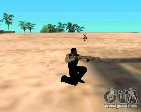 SPAS-12 из Vice City Stories para GTA San Andreas segunda pantalla