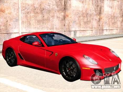 Ferrari 599 GTO para GTA San Andreas