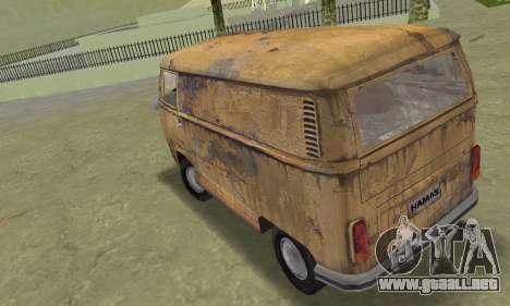 Volkswagen T2 Super Rust para GTA Vice City left