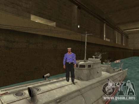 Bote Torpedo tipo G-5 para vista inferior GTA San Andreas