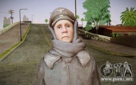 Friedrich Steiner из CoD: Black Ops para GTA San Andreas tercera pantalla