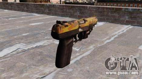 Pistola FN Five seveN LAM Otoño para GTA 4 segundos de pantalla