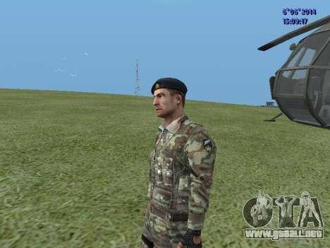 USSR Special Forces para GTA San Andreas sucesivamente de pantalla