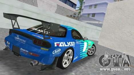 Mazda RX7 FD3S RE Amamiya Falken para GTA Vice City left