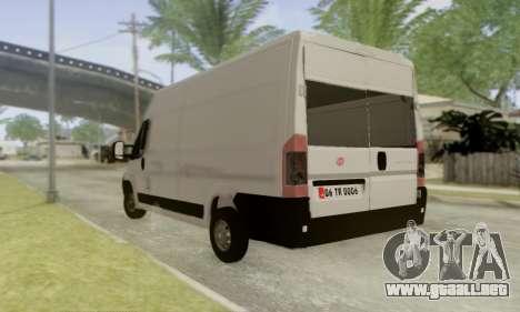Fiat Ducato Ekip Otosu para GTA San Andreas left