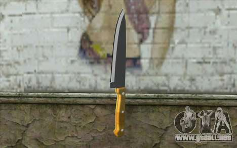 Cuchillo de cocina para GTA San Andreas