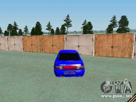 De los FLOREROS 2110 para la vista superior GTA San Andreas