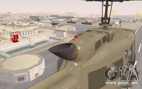 UH-1 Huey para la visión correcta GTA San Andreas