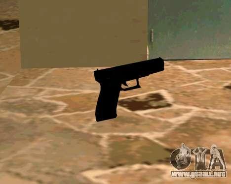Glock из Cutscene para GTA San Andreas