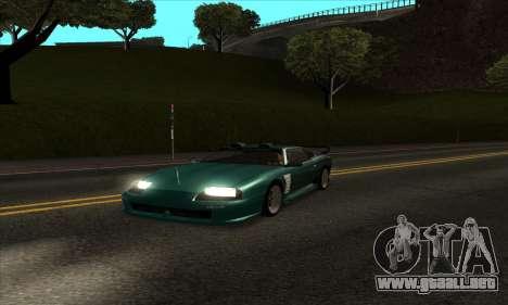 ENB mod muy débil PC para GTA San Andreas segunda pantalla