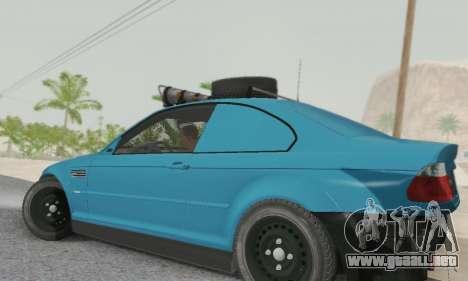 BMW M3 E46 Offroad Version para GTA San Andreas left