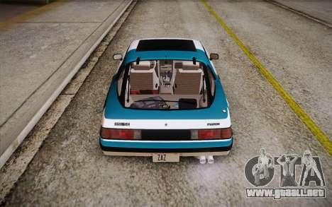 Mazda RX-7 GSL-SE 1985 HQLM para el motor de GTA San Andreas